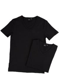 Hugo Boss Boss T Shirt V Neck 2 Pack Coel 10194356 01 T Shirt