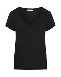 James Perse Casual Slub Cotton Jersey T Shirt