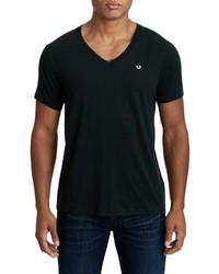 True Religion Brand Jeans Essentials V Neck T Shirt