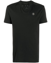 Philipp Plein Logo Patch T Shirt