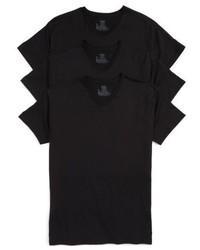 Hanes Luxury Essentials 3 Pack V Neck T Shirt