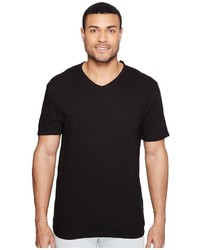 Calvin Klein Jeans Mixed Media V Neck Tee T Shirt