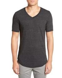 Goodlife Scallop Triblend V Neck T Shirt