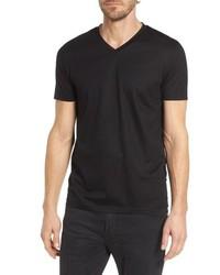 Teal slim fit v neck t shirt medium 8575762