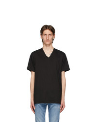Calvin Klein Underwear Three Pack Black V Neck Classic Fit T Shirt