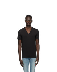 DSQUARED2 Two Pack Black V Neck T Shirts