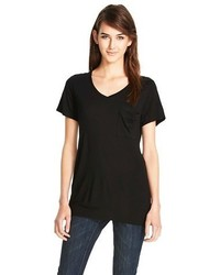 Mossimo V Neck Tee With Pocket