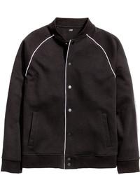 H&M Baseball Jacket White