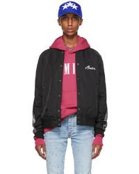 Amiri Black Hardcore Bomber Jacket