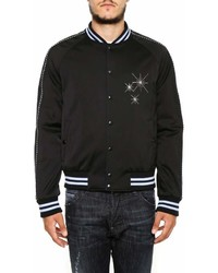 Lanvin Embroidered Varsity Jacket