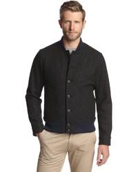 Jack Spade Herringbone Varsity Jacket