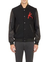 Surface to Air Kavinsky Varsity Jacket