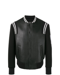 Neil Barrett Logo Sleeve Varsity Jacket