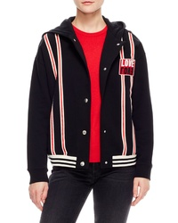Sandro Love Cotton Varsity Jacket