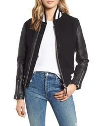 Schott NYC Moto Varsity Jacket