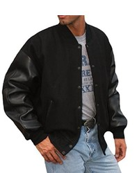 REED Premium Varsity Leatherwool Jacket Made In Usa