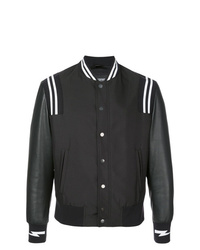 Neil Barrett Stripe Detail Bomber Jacket