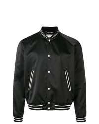 Saint Laurent Trimmed Bomber Jacket