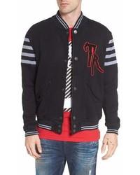 True Religion True Religion Brand Jeans Collegiate Knit Inset Jacket