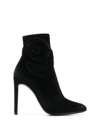 Giuseppe Zanotti Design Rose Detail Stiletto Booties
