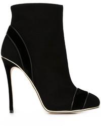 Dsquared2 Trim Detail Ankle Boots
