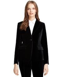 Brooks Brothers Milano Fit Velvet Jacket