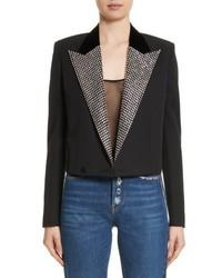 Crystal lapel blazer medium 5208903