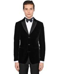 Ginza stretch velvet tuxedo jacket medium 4417036