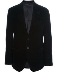 Giorgio Armani Two Button Velvet Blazer