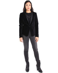 DAY Birger et Mikkelsen Night Moss Velvet Blazer