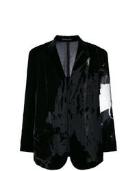 Yohji Yamamoto Oversized Velvet Jacket Unavailable