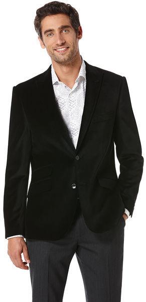 Perry Ellis Slim Fit Velvet Jacket | Where to buy &amp how to wear