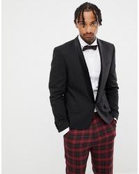 86e35fea9 Men's Black Velvet Blazers from Asos | Men's Fashion | Lookastic.com