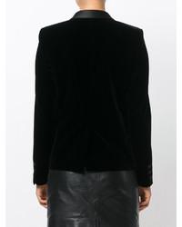 5f6d2a04b8 Saint Laurent Tuxedo Jacket With Square Cut Shoulders, $1,796 ...