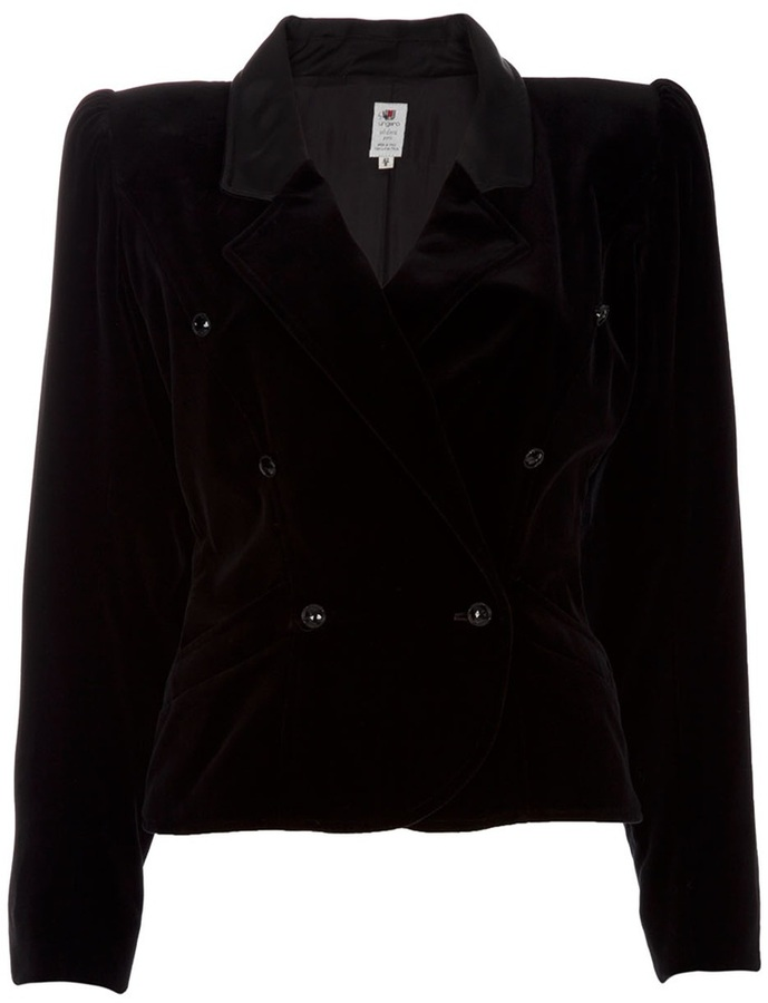 Ungaro Emanuel Vintage Velvet Jacket
