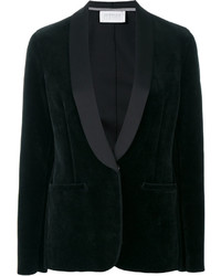 Harris Wharf London Velvet Blazer