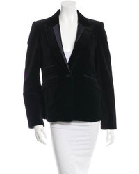 3.1 Phillip Lim Velvet Single Breasted Blazer