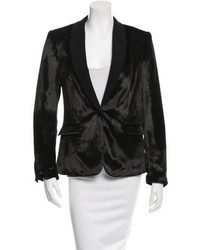 Rag & Bone Velvet Single Button Blazer