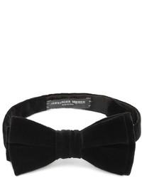 Alexander McQueen Velvet Bow Tie