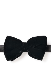 Croft Barrow Solid Velvet Holiday Pretied Bow Tie