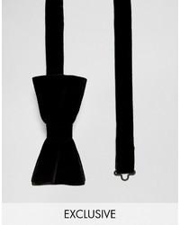 Noose Monkey Velvet Bow Tie