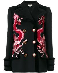 Gucci Dragon Embroidered Coat