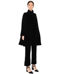 Giorgio Armani Silk Velvet Coat