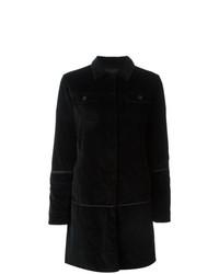 Helmut Lang Vintage Velvet Coat