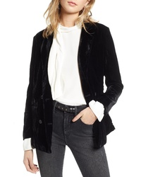 Treasure & Bond Velvet Blazer