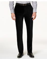 Calvin Klein Slim Fit Velvet Dress Pants