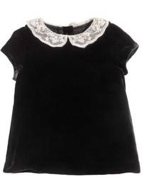 H&M Silk Blend Velvet Dress