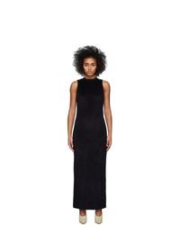John Elliott Black Velvet Maxi Dress