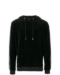 Black Velvet Hoodie