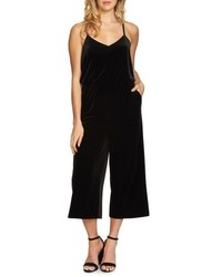 1state velvet culotte jumpsuit medium 5308800